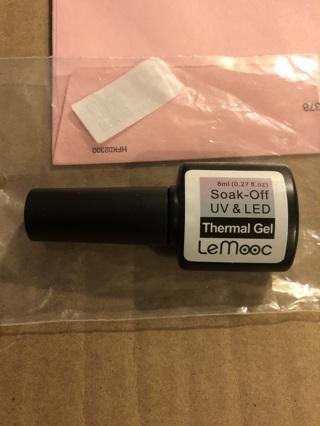 BNIP 8ml LeMooc Holographic Temperature Color Changing UV Gel Polish