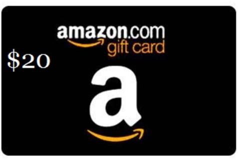 Amazon 20.00 gift card