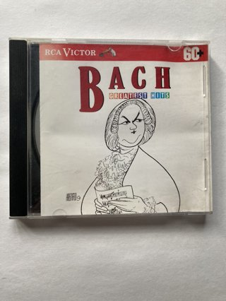 Bach Greatest Hits ~ Classical CD
