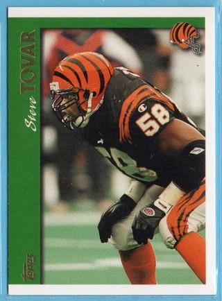 1997 Topps - Steve Tovar - Bengals