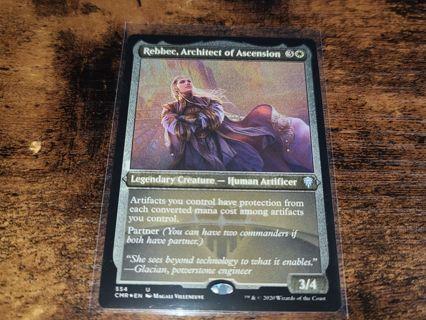 Magic the gathering mtg Rebbec Architect of ascension rare card