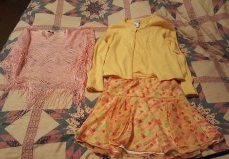 BEAUTIFUL 3 PIECE EASTER OUTFIT GIRLS SIZE 10