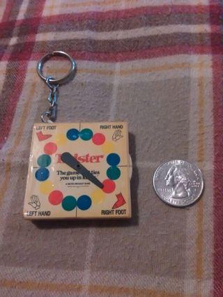 Mini Twister Keychain