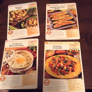 4 Easy Everyday Cooking Recipe Card 1