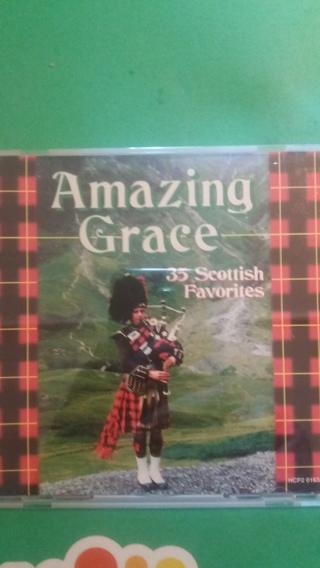 cd amazing grace  35 scottish favorites  free shipping