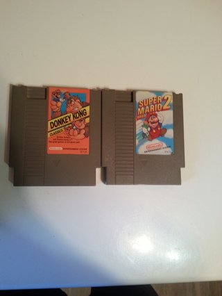 2 Vintage Games and console