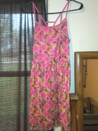 Cute pink sun dress