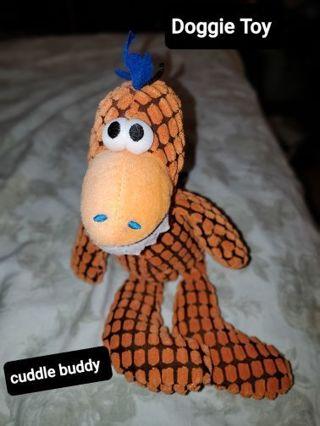 Cute doggie dino chew toy