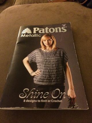 Patons Metallic Pattern Book