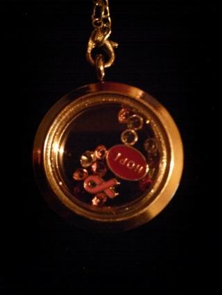 Hope Living Locket Necklace~GIN Bonus