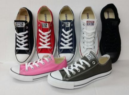 CONVERSE-ALL-STAR-CHUCK-TAYLOR-CANVAS-SHOES-LOW-TOP-ALL-SIZE-MEN-WOMEN  CONVERSE-ALL-STAR-CHUCK--