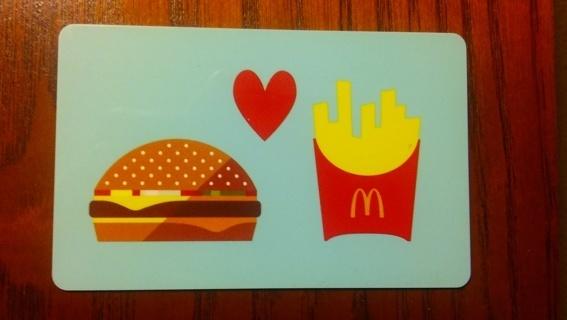 $5 McDonalds Gift Card