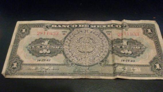 BANCO DE MEXICO money