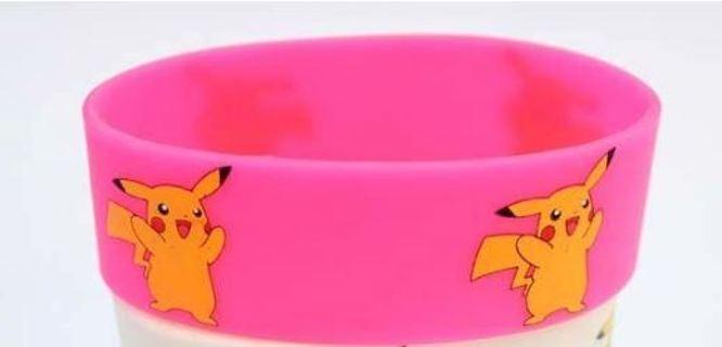 NEW Pokemon Pikachu Wrist Band bracelet POKEMON JEWELRY pocket monster anime