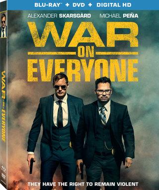 War on Everyone (Digital HD Download Code Only) *Alexander Skarsgård* *Michael Pera*