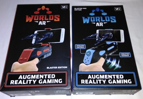 Brand New 2 WORLDS AR AUGMENTED REALITY GAMING Games