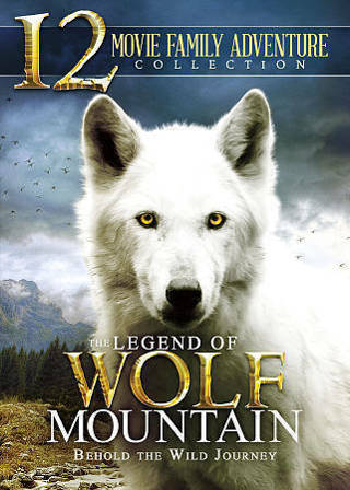 The Legend of Wolf Mountain-12 Movie Family Adventure (2-Disc Dvd Movie Set)-New & Sealed