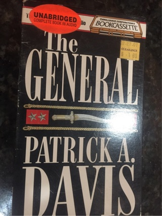 The general by Patrick A Davis unabridged audiobook four cassette tapes