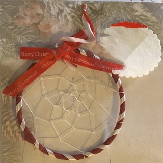BNIP Beautiful Christmas Dreamcatcher Of PEACE & HOPE For You and Your Household!