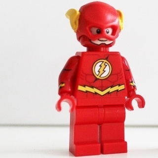 New The Flash Minifigure Building Toy Custom Lego
