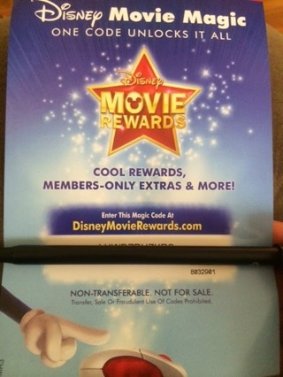 Disney Reward Points