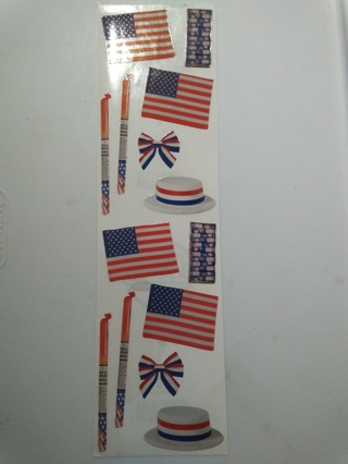 Happy 4th Of July Stickers