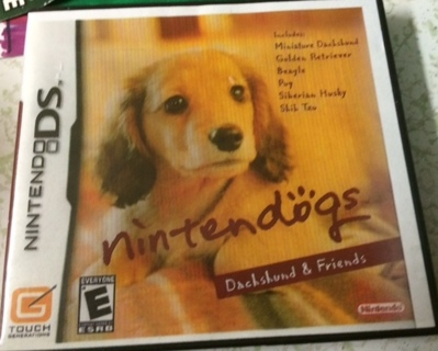 Nintendo DS Nintendogs Dachshund & Friends Game