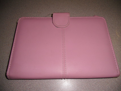 PINK TABLET CASE USED