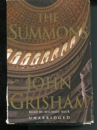 The Summons-John Grisham-Cassette Book