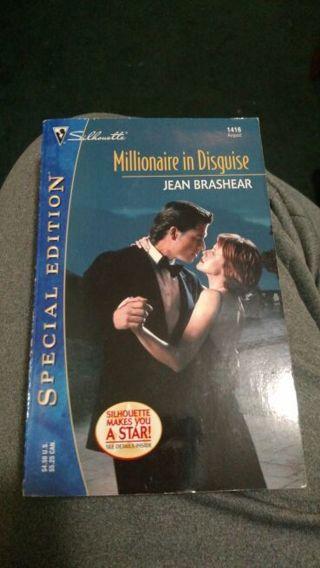 Millionaire in Disguise by Jean Brashear (paperback)