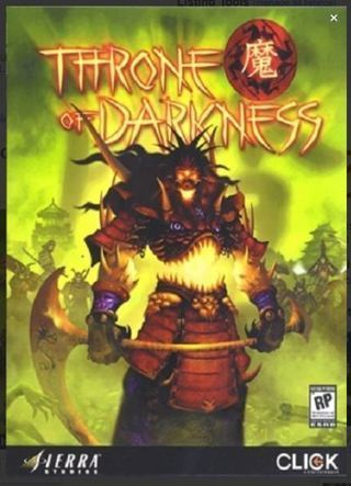 1 computer game Throne of Darkness - PC GAME / RPG FREE SHIPPING