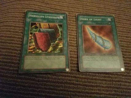 X2 yugioh magic cards