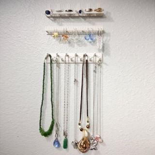 9PCS Jewelry Wall Hanger Holder Stand Organizer Necklace Bracelet Earring Rack