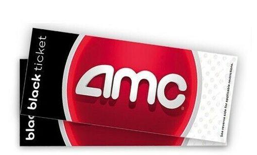 1 AMC Free Movie Ticket