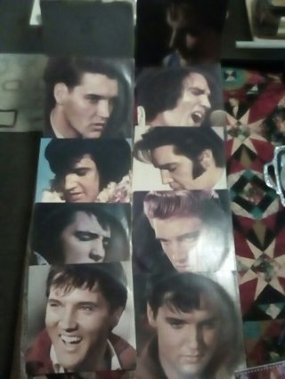 ELVIS PRESLEY THE SILVER ANNIVERSARY BOX SET 8 ALBUMS GOOD CONDITION