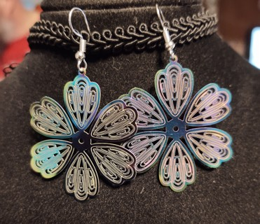 2 Pair Rainbow Earrings