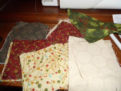 Quilting Pieces - 1 lot