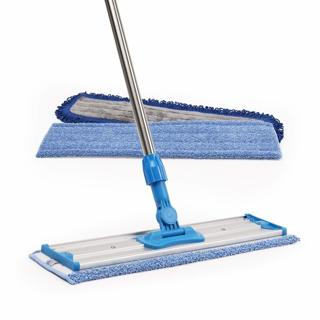 "18"" Professional Microfiber Mop   (3 Premium Mop Pads + 2 FREE Microfiber Cloths) - new"