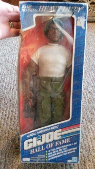 Hasbro GI Joe Hall of Fame 6114 Basic Training Heavy Duty, New Sealed, 1992