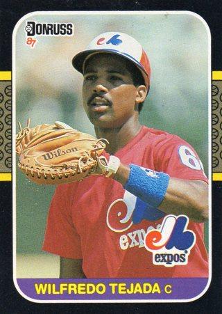 Free 1986 Donrussleaf Baseball Card Expos Wilfredo Tejada