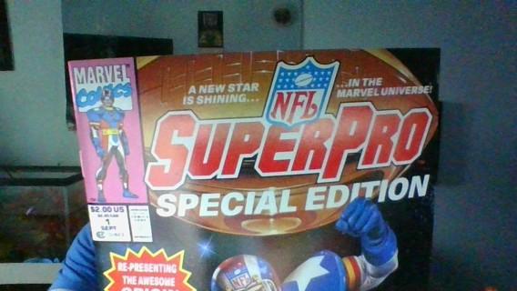 Superpro -NFL Comic Book #1 Special Variant