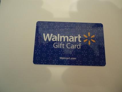 *** WALMART $10.00 GIFT CARD ***