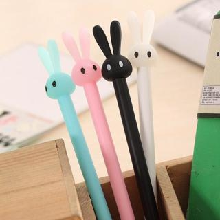 4 Pcs/set Rabbit Gel Pens Set Kawaii School Supplies Office Stationary Photo Album Kawaii Pens Sta