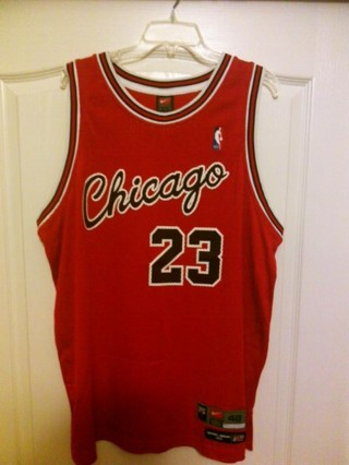buy popular 6b629 8d654 Free: Michael Jordan Nike Retro Flight 8403 1984 Chicago ...