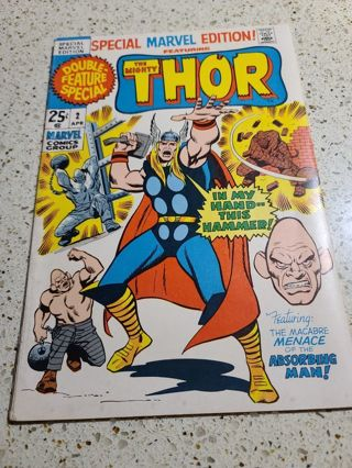 The Mighty Thor Special Marvel Edition #2 April 1971
