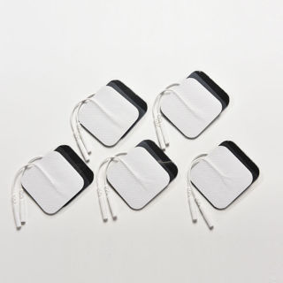 10X White Replacement Tens ELECTRODE PADS Massage Electrode Tens Units