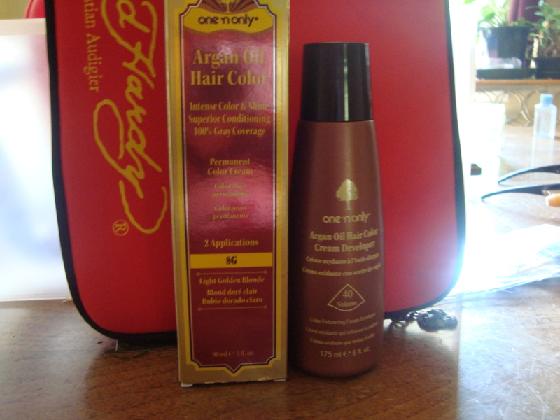 Free New Argan Oil Hair Color Cream Developer Gin Other