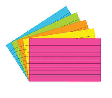 Brand New Index Card * Assorted Colors *