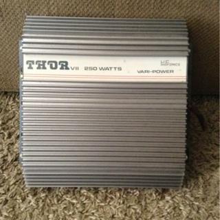 Free: Thor VII by Highfonics 250 Watt Vari-Power Amp