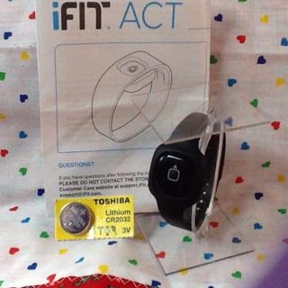 Ifit act activity band